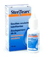 Produits offerts par la compagnie pharmaceutique